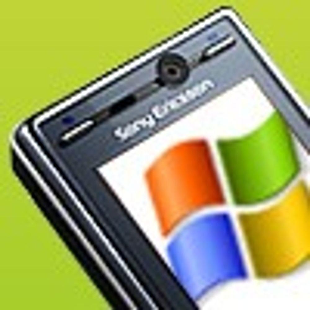 Rykter om Windows fra Sony Ericsson
