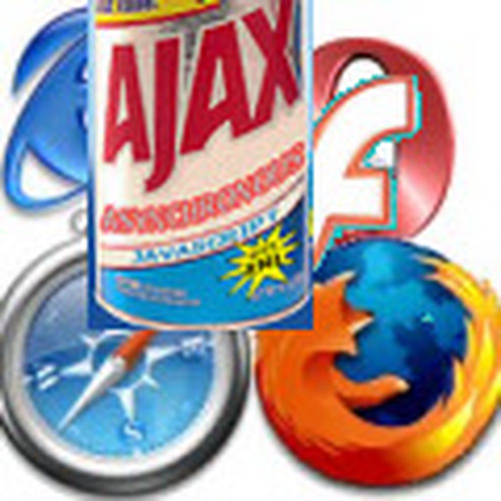 Felles Ajax for PC-er og mobiltelefoner