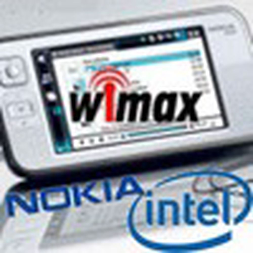 Nokia velger Intel til Wimax-surfebrett