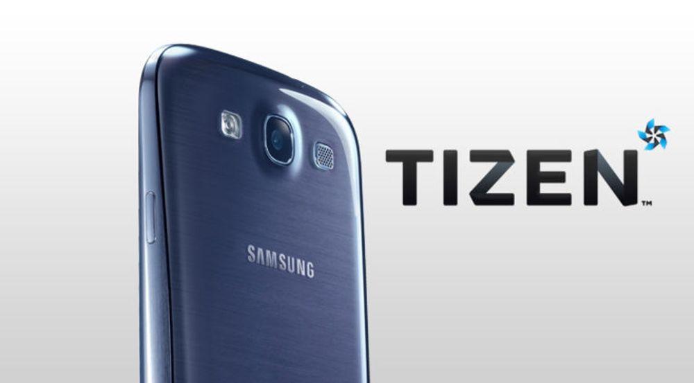 Samsung skal komme med Tizen-baserte smartmobiler i år, men om det blir toppmodeller i klasse med denne Galaxy S III-mobilen, er ukjent.
