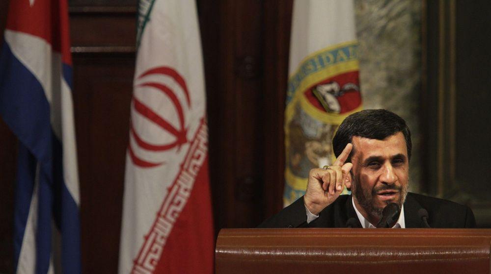 Nytt Stuxnet? Iran både bekrefter og avkrefter nye kyberangrep mot landet, angrep de hevder stammer fra sine fiender USA og Israel. Bildet viser Irans president Mahmoud Ahmadinejad.