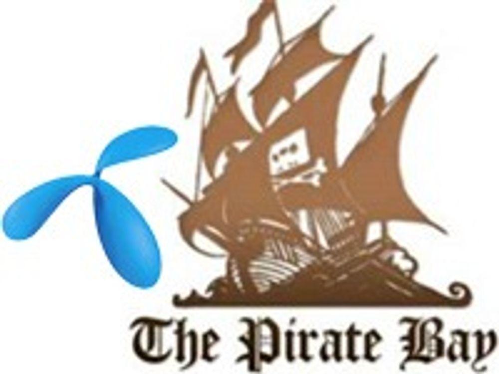 Telenor slipper å sperre Pirate Bay