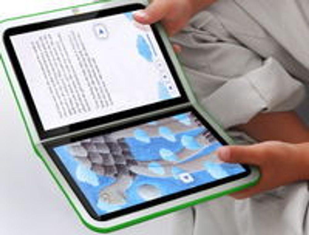 OLPC skroter dobbeltskjerm, blir tablet