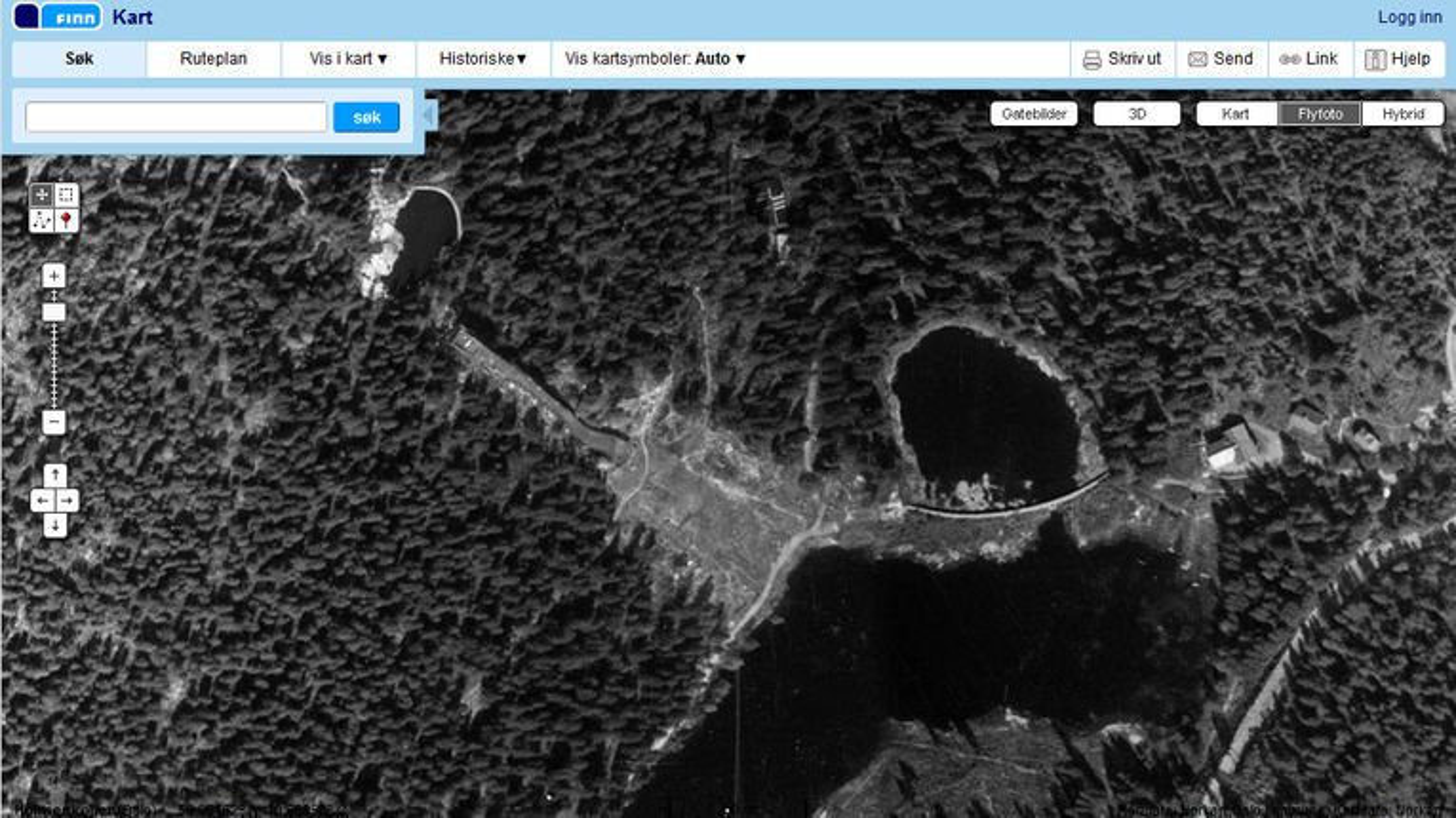 finn kart historiske Finn.no har fått historiske flyfoto   Digi.no finn kart historiske