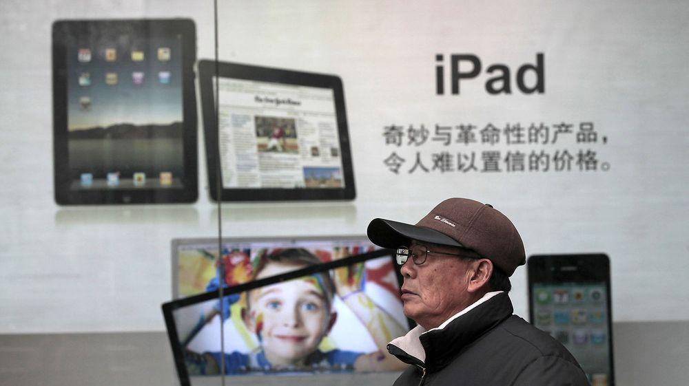 Apple risikerer nå både salgsnekt og forbud mot eksport av iPad i Kina, landet der store deler av produksjonen foregår.
