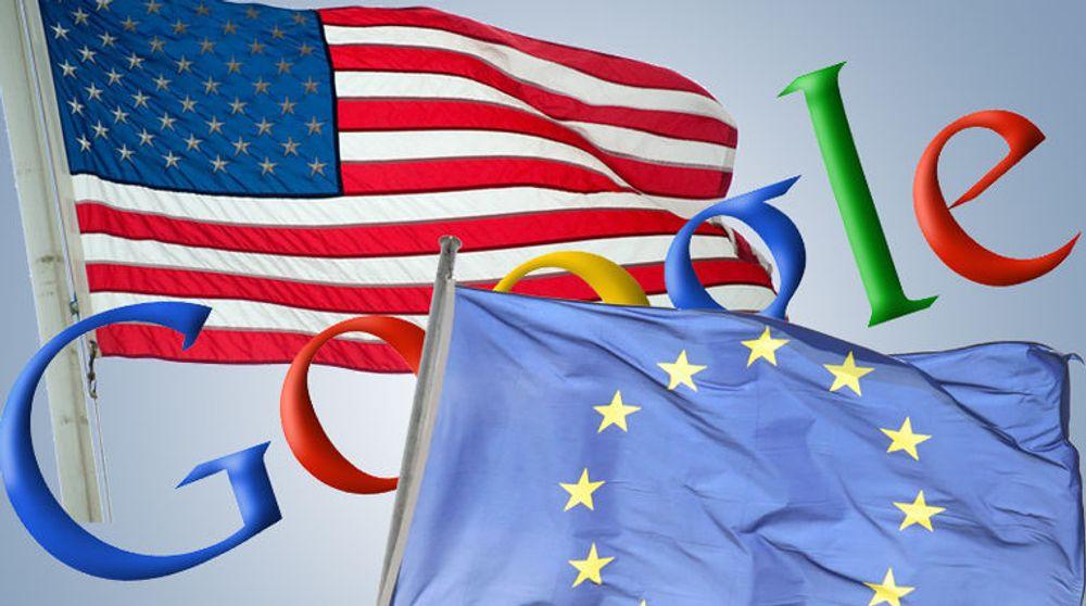 Klar advarsel mot Google fra EU og USA
