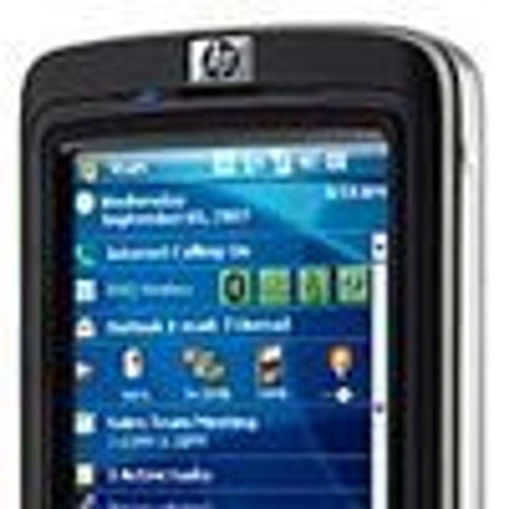 HP forsøker å erstatte PDA-salget