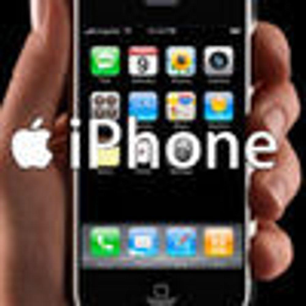 Apples iPhone blir mye billigere