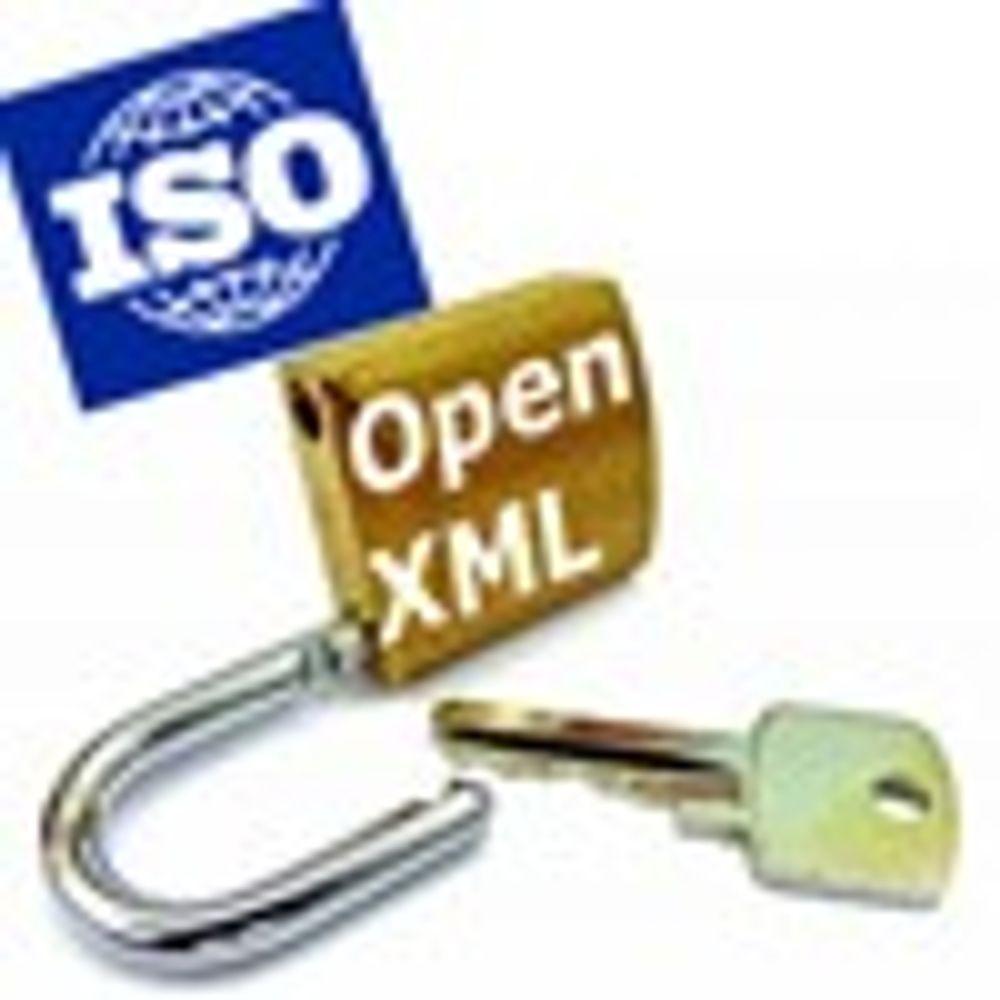 ISO sa nei til Microsofts Open XML-format