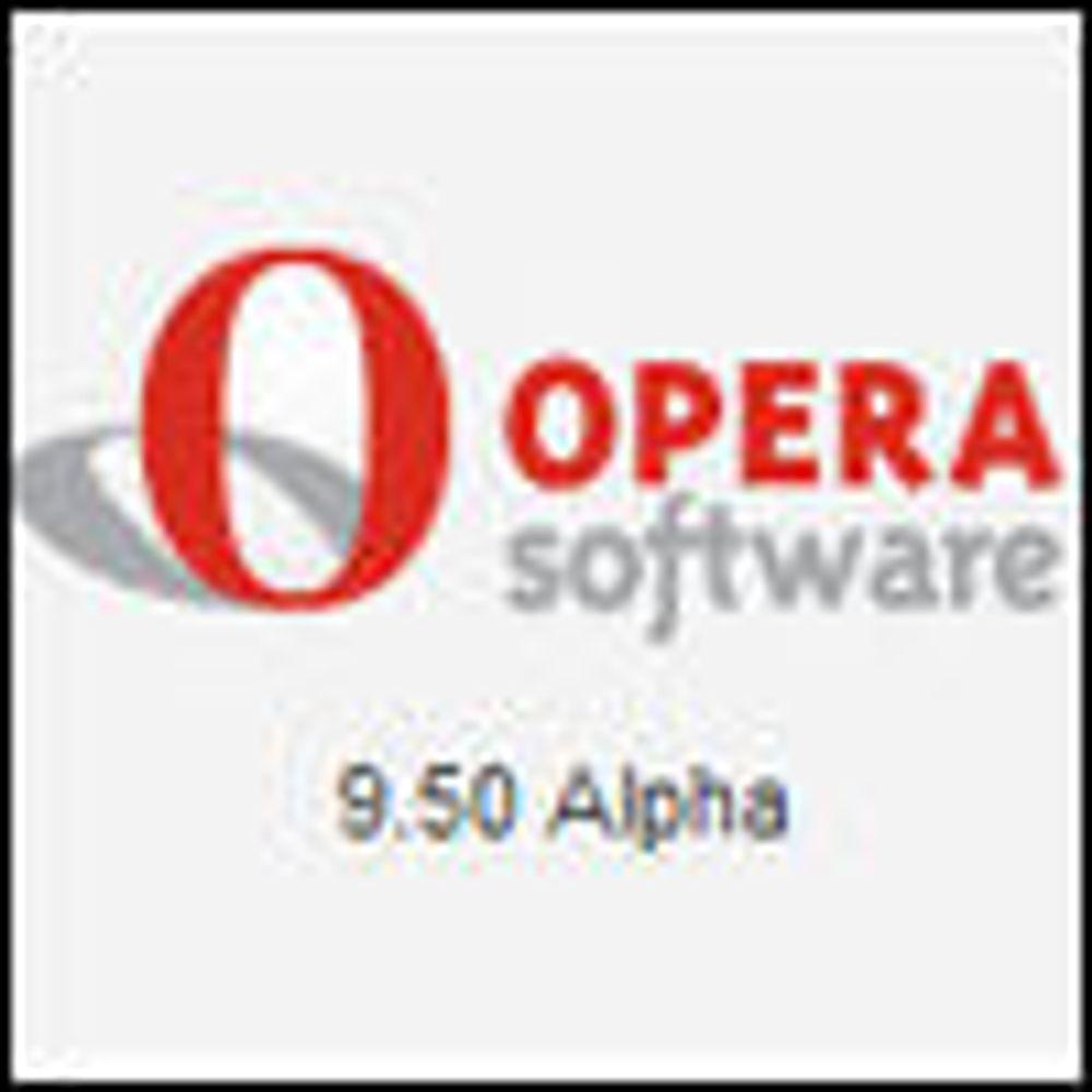 Testversjon av Opera viser mange nyheter