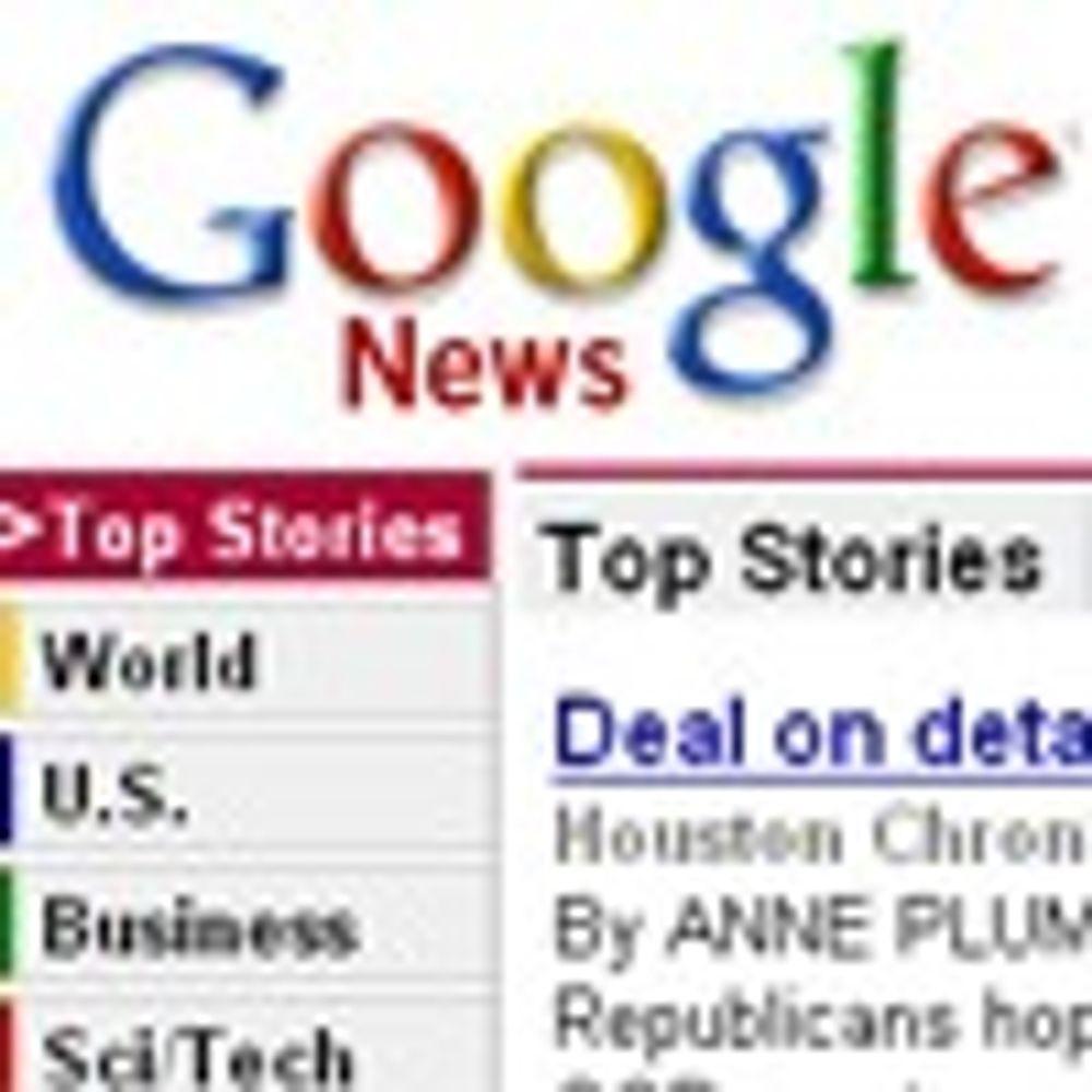 Google begynner å betale for nyheter
