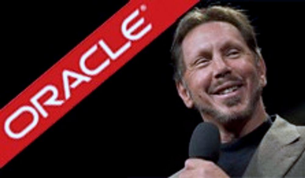 Oracle skuffet med sviktende salg