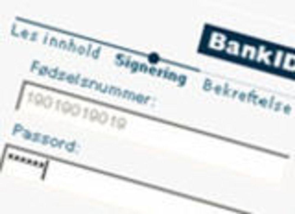 Hver fjerde nordmann bruker BankID