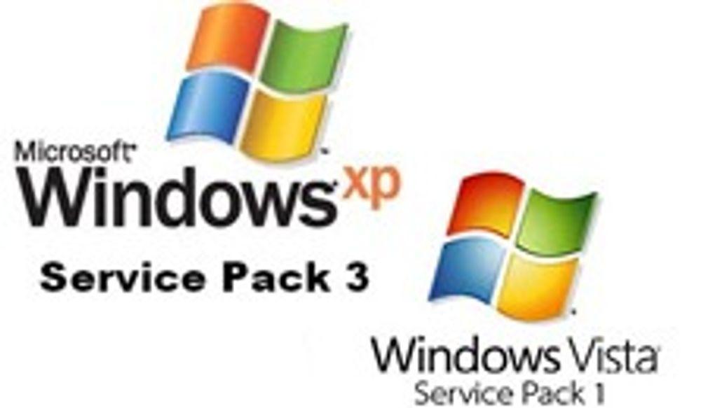 Toner ned XP SP3 for å gi Vista SP1 en sjanse