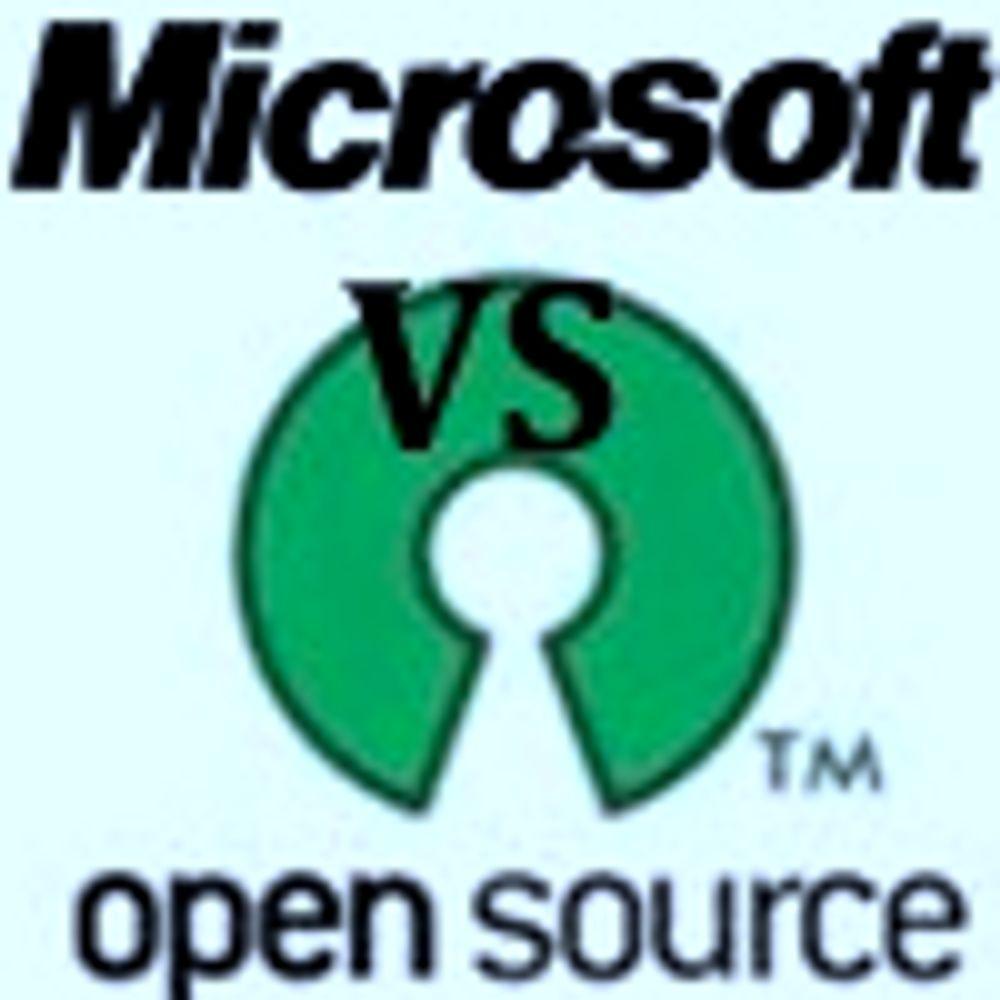 Microsoft slår tilbake mot friprog-kritikk