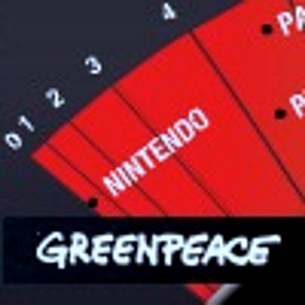Nintendo fortsatt slappest på miljøvern