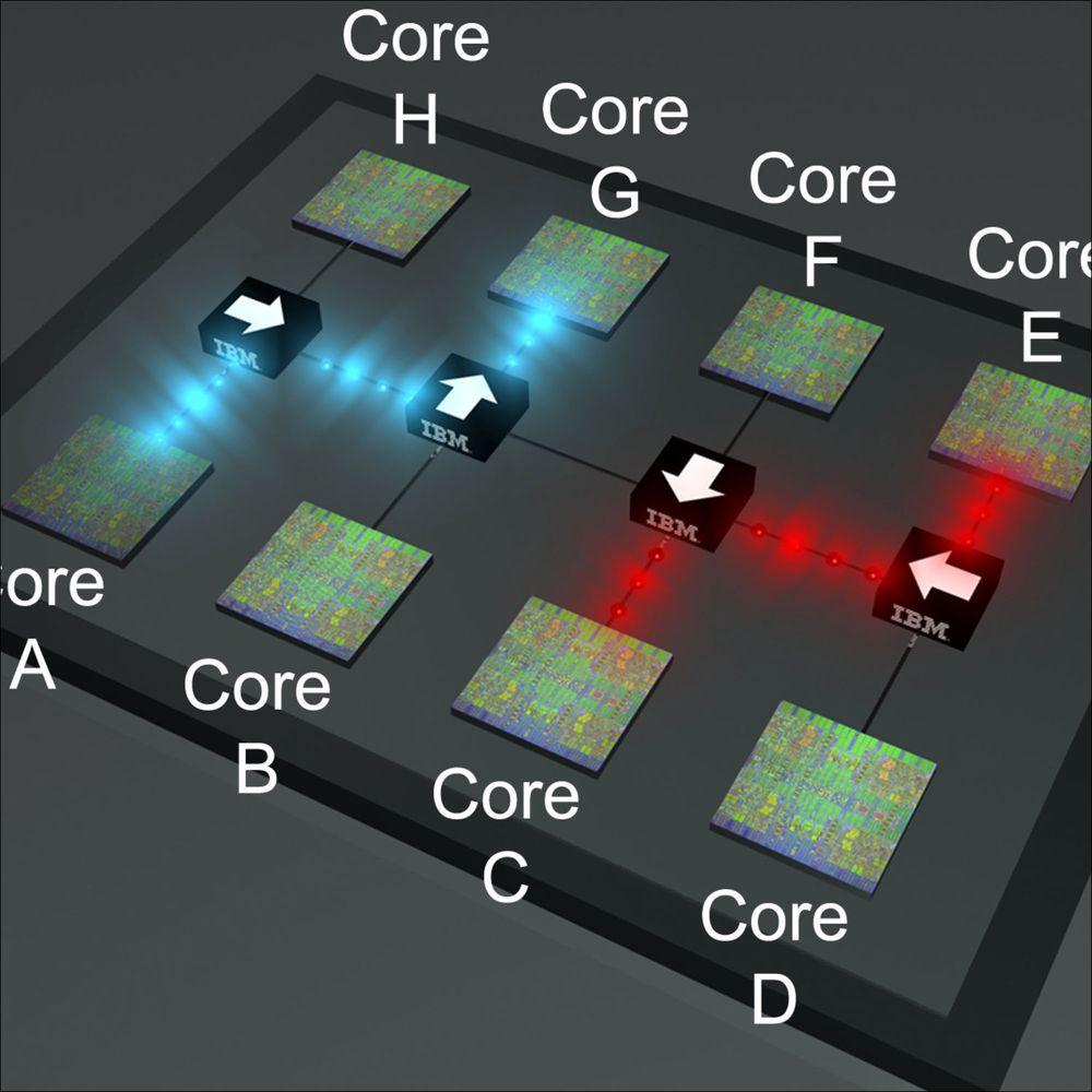 IBM lover raskere prosessorer med optikk