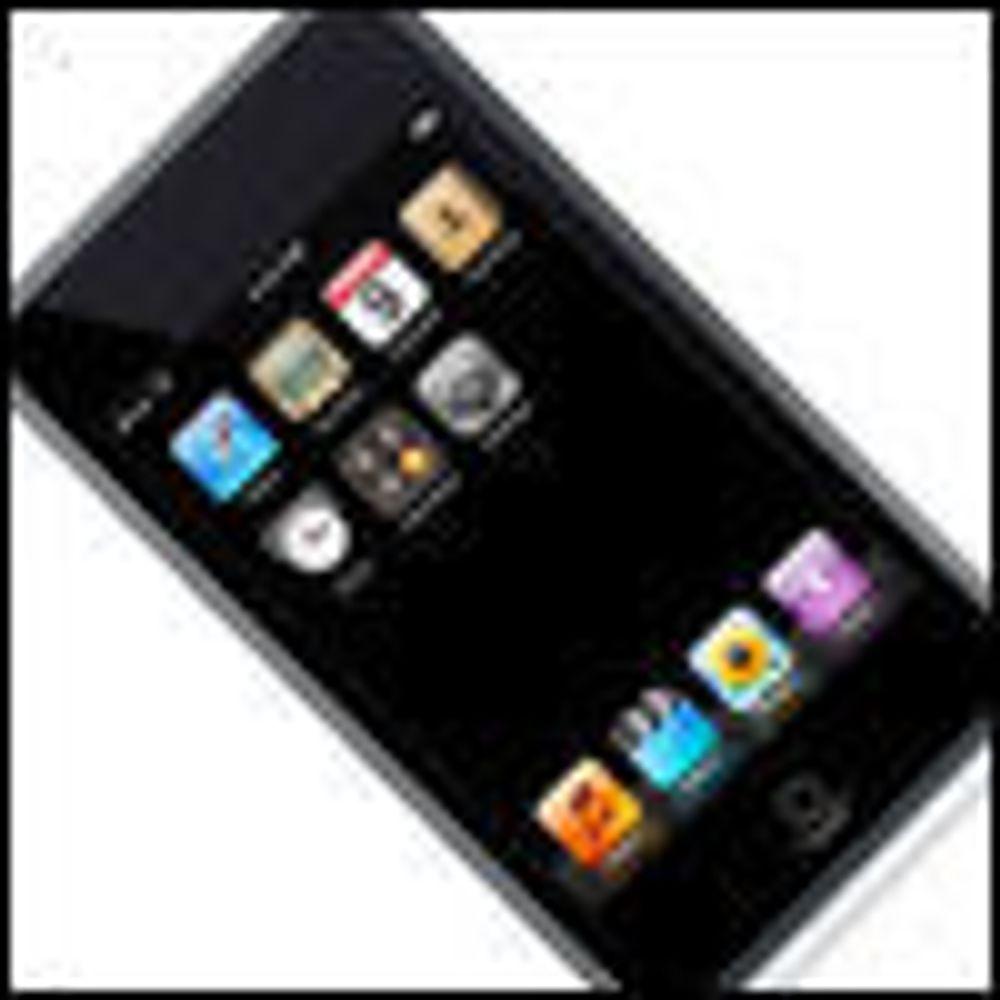 Mer plass i ny iPhone og iPod Touch