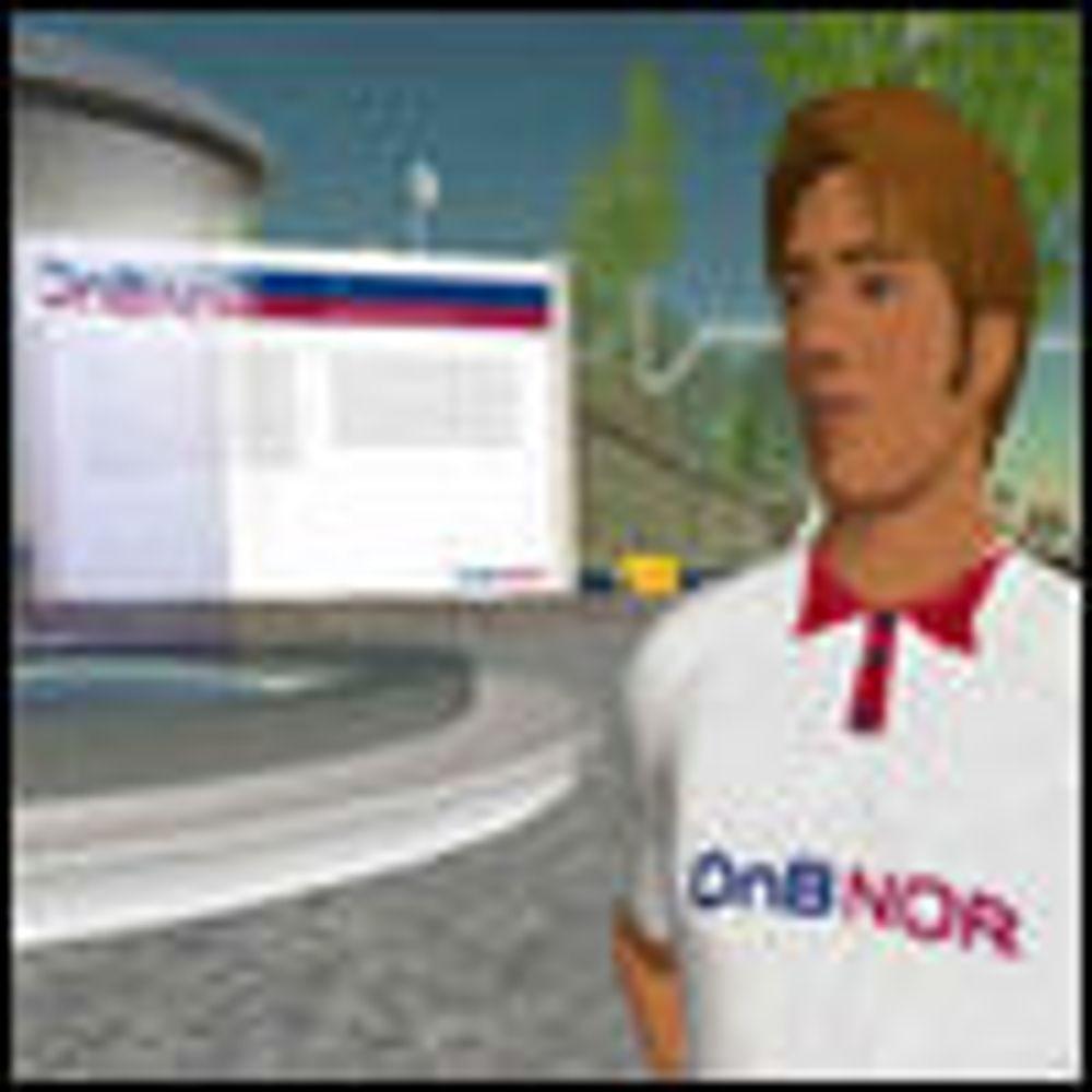 Tomt i norske Second Life-lokaler
