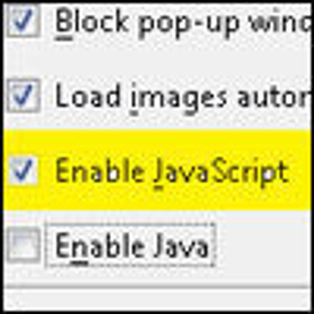 Stadig flere utvikler med JavaScript