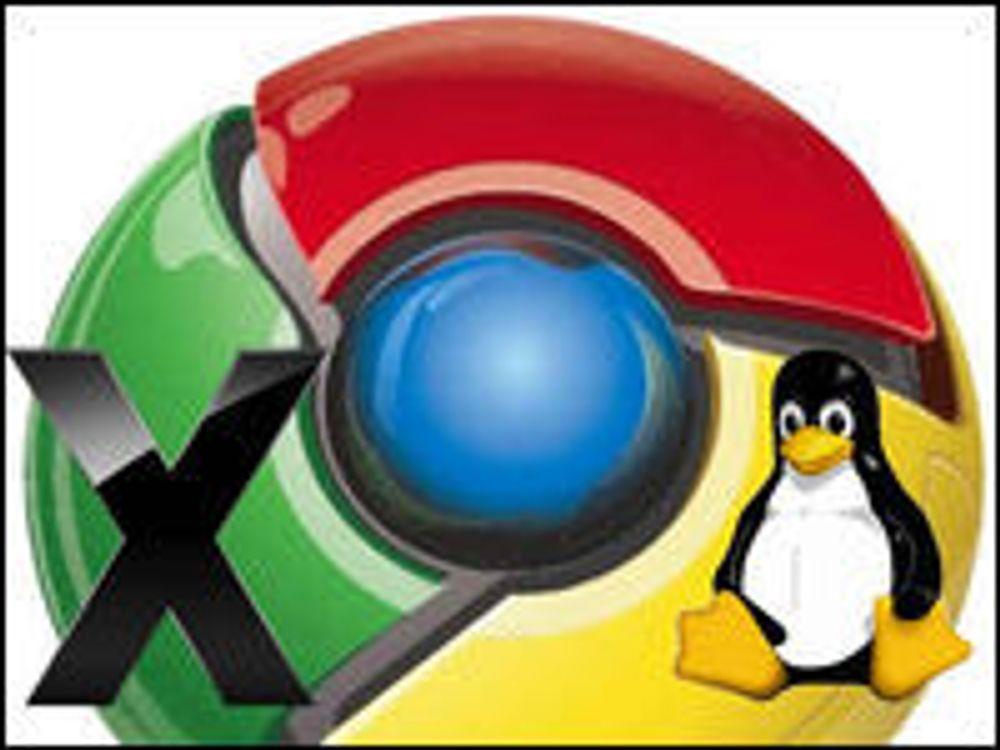 Når kommer Chrome for Mac og Linux?