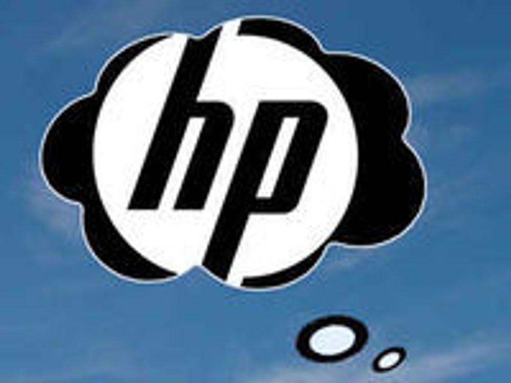 HP avfeier nettskyen som «hype»