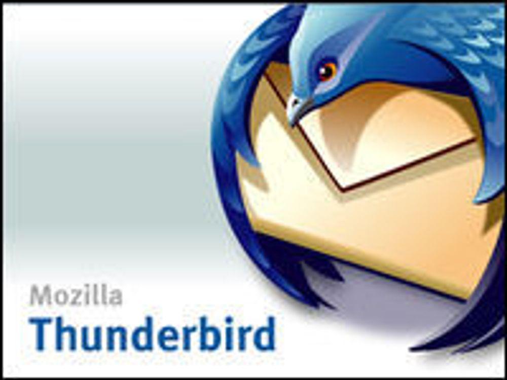 Nå blir også Thunderbird fanebasert