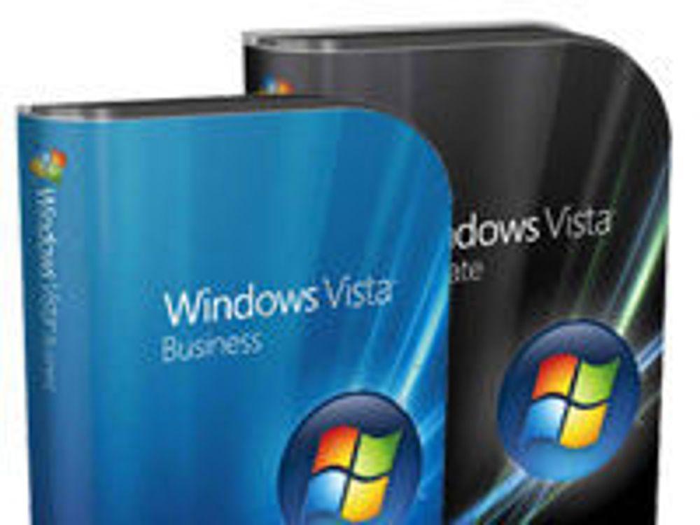 Dropper Vista og skylder på finanskrisen