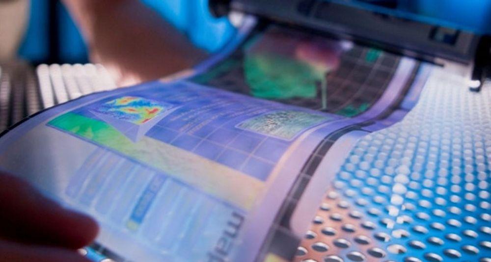 HP og forskere ved Arizona State University samarbeider om fremtidens skjermteknologi. (Foto: Flexible Display Center ved Arizona State University)