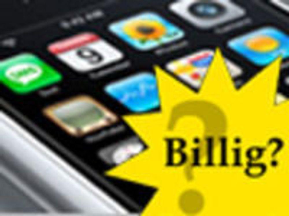 iPhone skal selges på billig-kjede