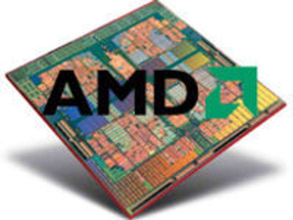 AMDs inntekter stuper
