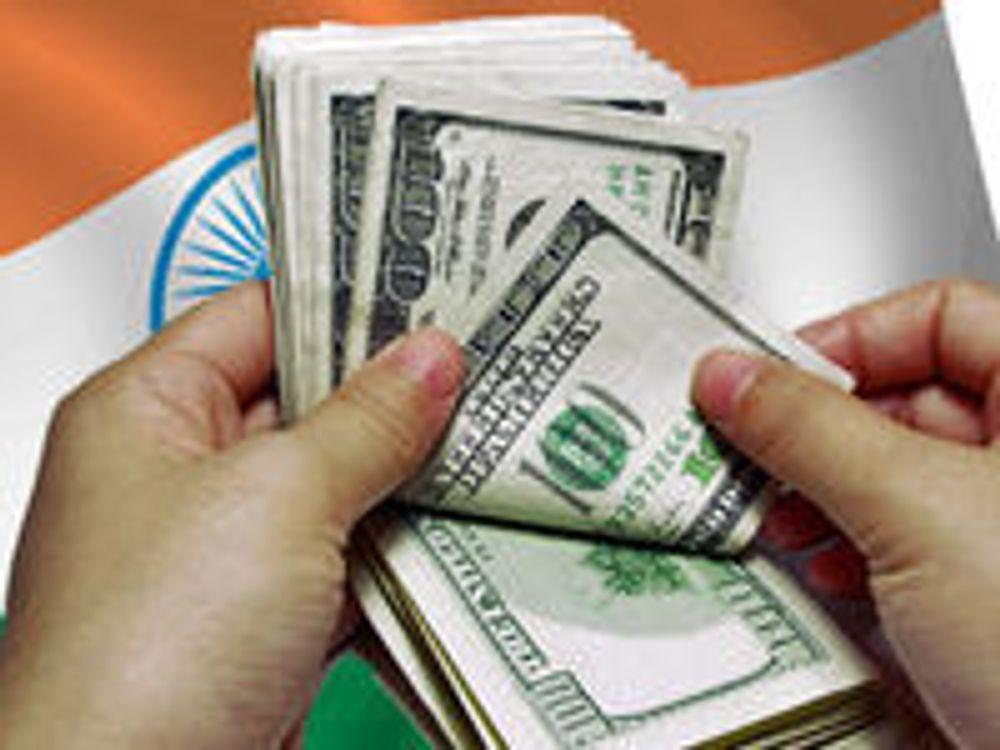 Finanskrisen rammer India