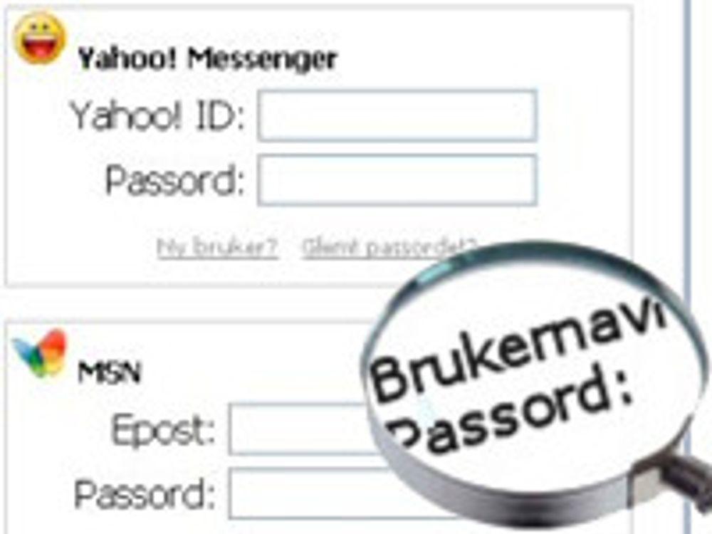 Enkel oppskrift for sikre passord