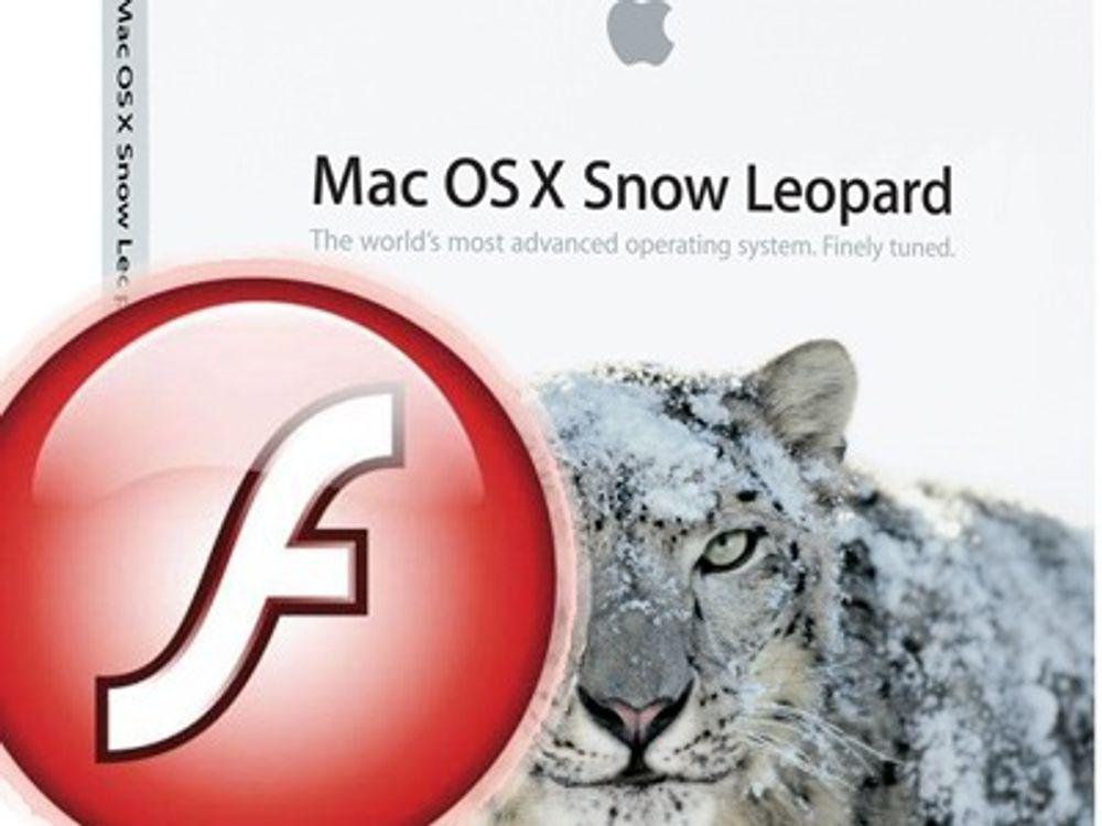 Apple ruller ut sårbar Flash Player