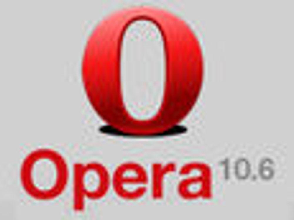 Oppdatert Opera får enda mer fart