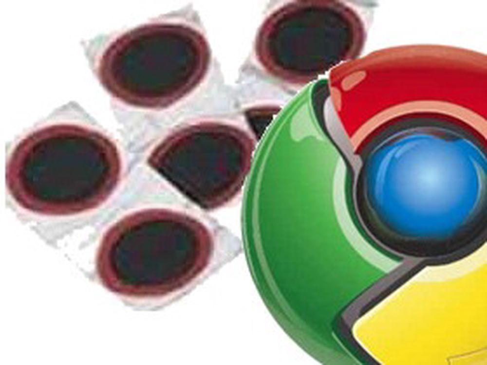 Google Chrome må oppdateres