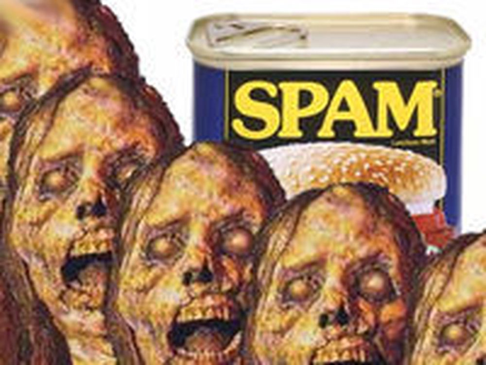 Antallet spam-zombier doblet seg