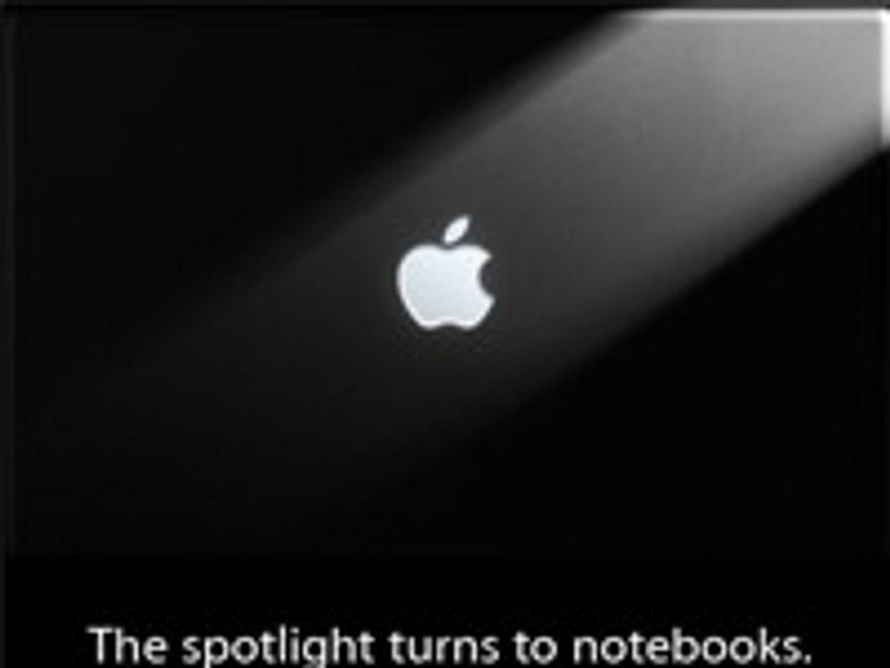 Apple signaliserer nye bærbare