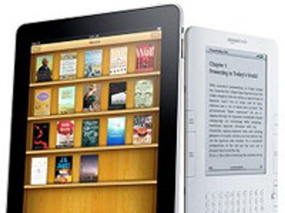 – Kindle er ingen konkurrent til iPad