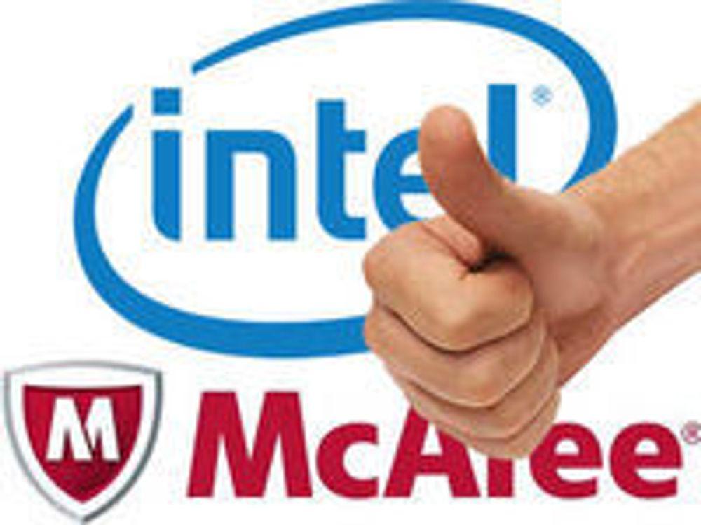 USA godkjenner Intels kjøp av McAfee