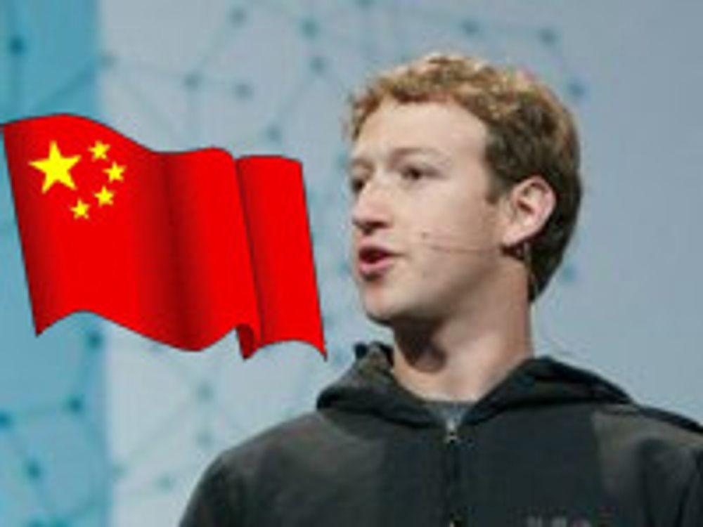 Facebook-gründer på turné i Kina