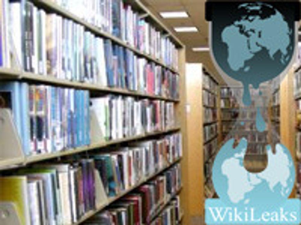 Norske bibliotek støtter Wikileaks