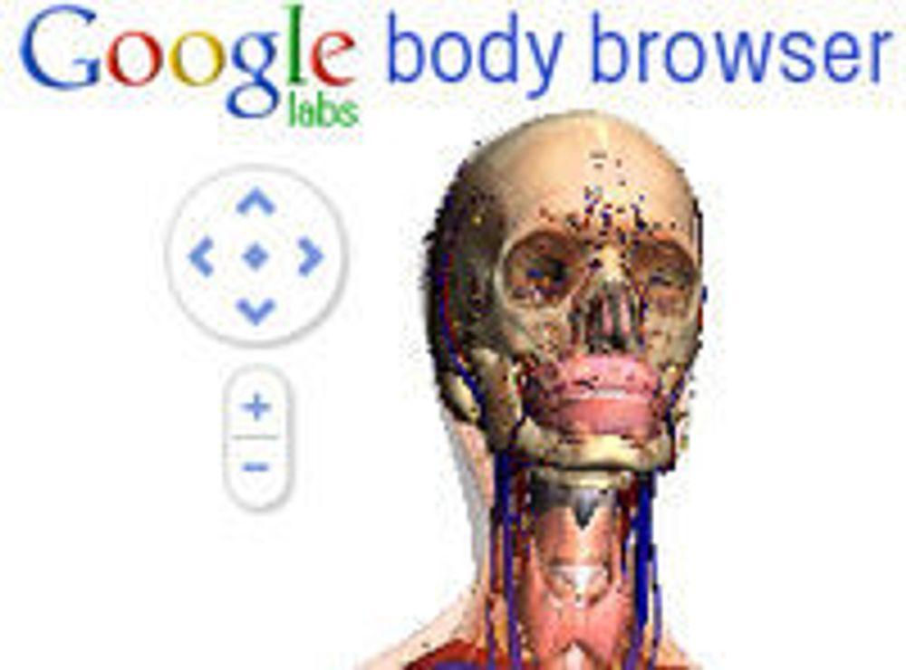 Prøv «Google Earth» for menneskekroppen