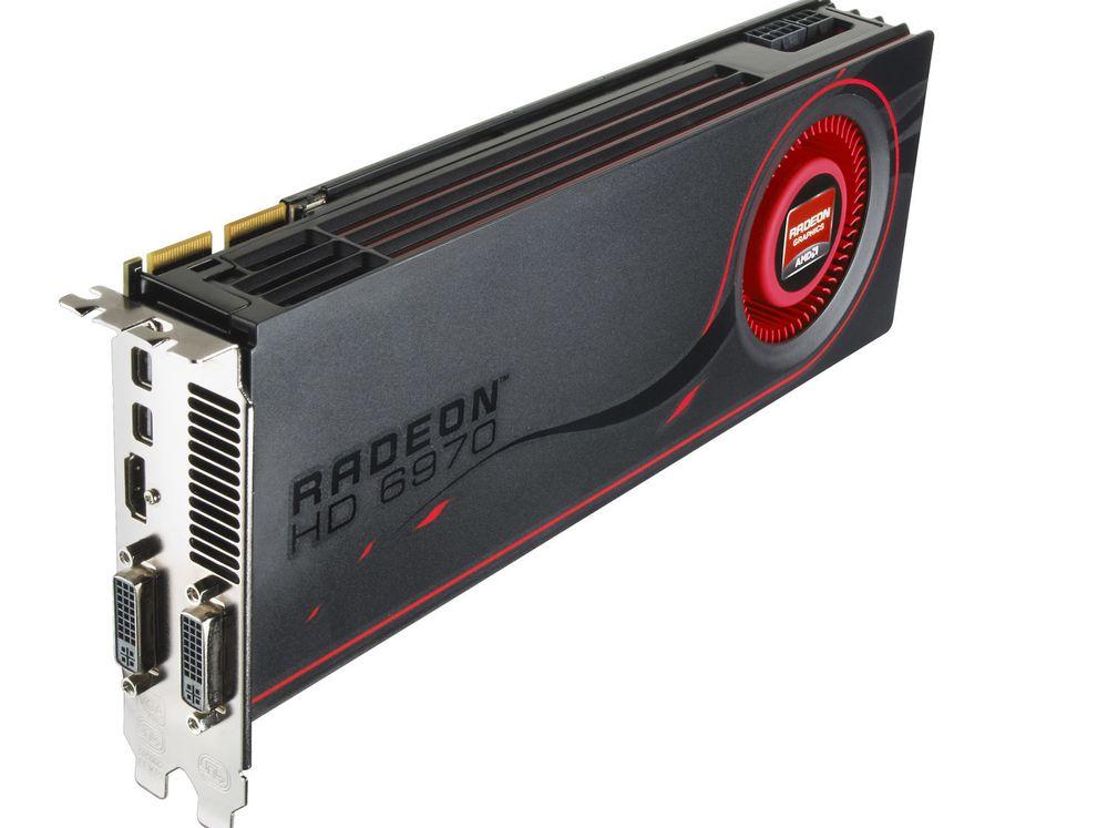 AMDs nye toppmodell,  Radeon HD 6970.