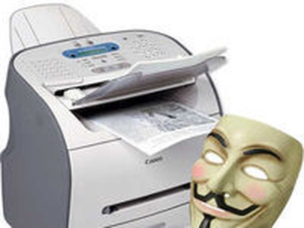 «Anonymous» angriper faksnumre