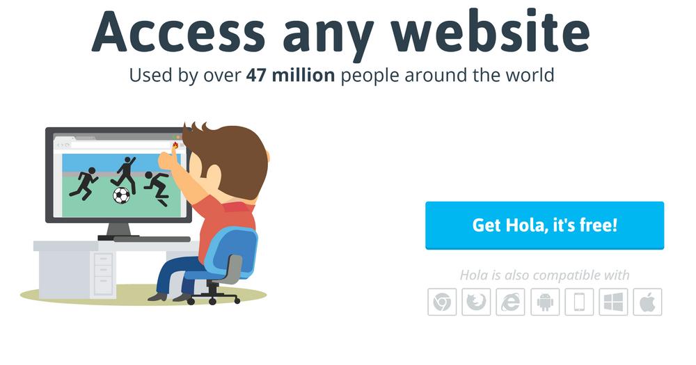Med mange titalls millioner brukere, har Hola potensielt nok båndbredde å bidra med for de som ønsker å kjøpe den.