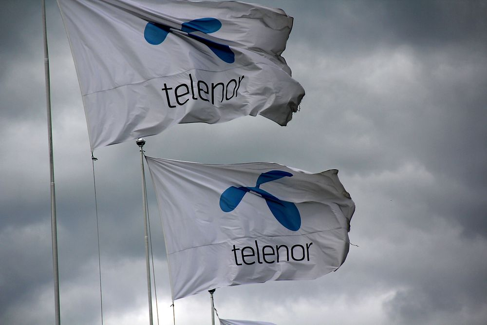 Telenor-flagg