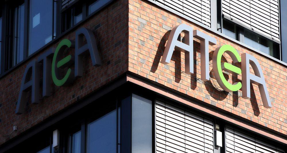 Dersom lederen av Atea Danmark blir dømt for ikke å ha gjort nok for å stoppe korrupsjonen, kan det gå ut over offentlige IT-kontrakter i hele Europa. Bildet er fra det norske kontoret.
