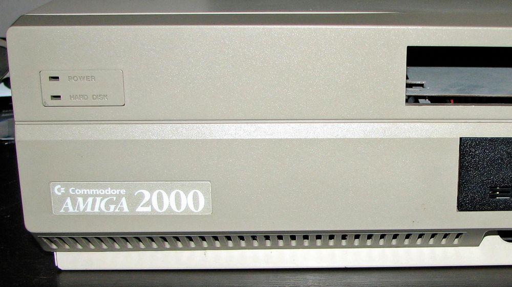 En Commodore Amiga 2000 fra slutten av 1980-tallet kan fortsatt gjøre nytte for seg.
