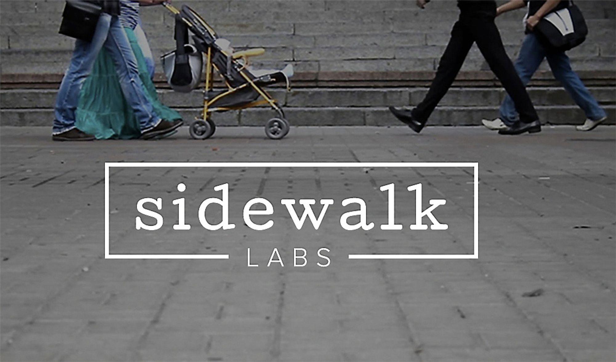 Sidewalk Labs er Googles nyeste datterselskap. Selskapet skal forske på og utvikle teknologier og produkter som skal kunne bidra til å forbedre livet i større byer.